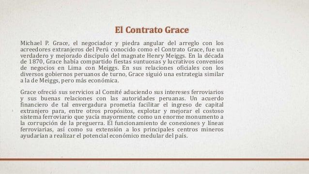 Michael P. Grace, el negociador y piedra angular del arreglo con los acreedores extranjeros del Perú conocido como el Cont...