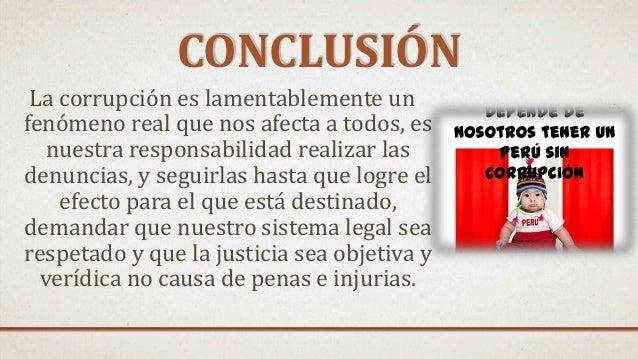 Evolución histórica de la corrupción en el perú