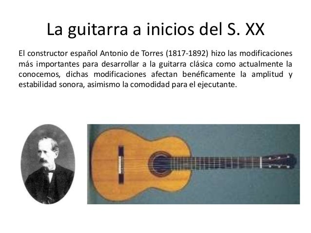 Evolución histórica de la guitarra