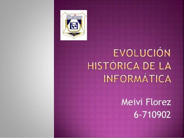 Meivi Florez 6-710902