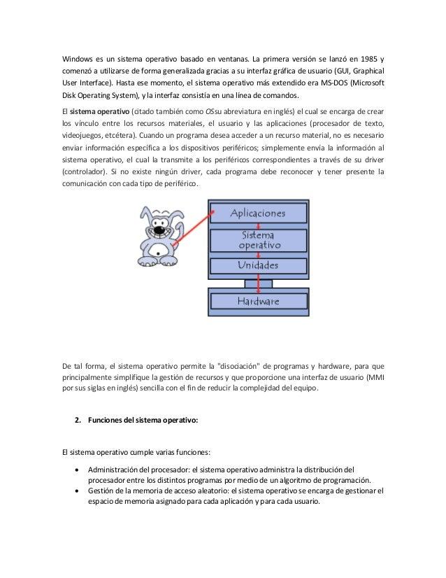 Evolución y utilización de los Sistemas Operativos Slide 3