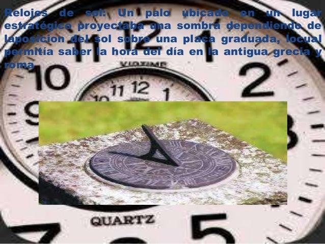 Evolucion Del Reloj D6g1213
