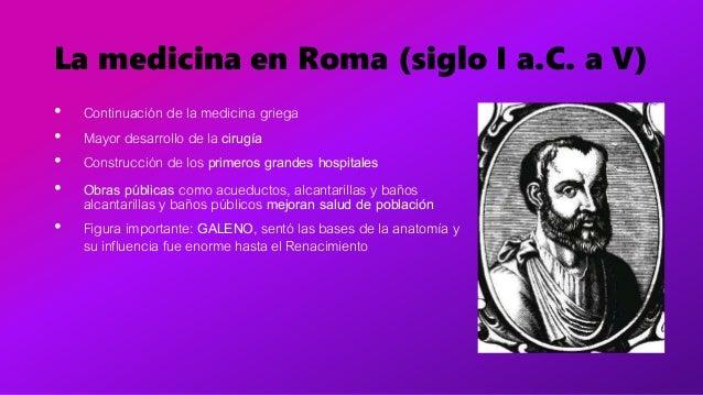 Evolucion historica medicina