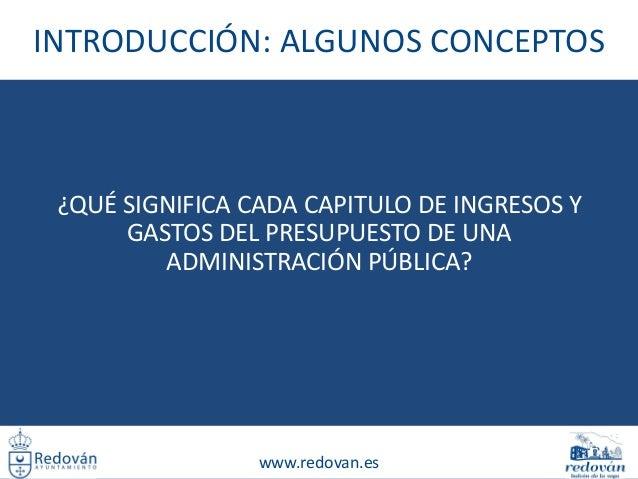 Evolución presupuestaria del Ayuntamiento de Redován Slide 2