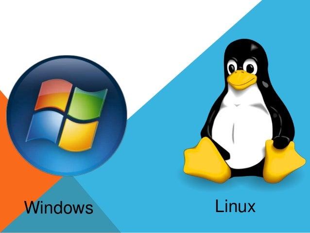 EVOLUCIÓN DE LinuxWindows