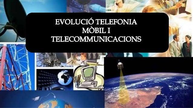Índex • 1. La evolució de la telefonia mòbil • 2. La evolució de les tablets • 3. Els possibles danys d'aquestes noves tec...