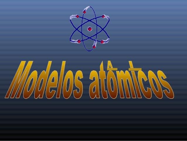Primeiro modelo atômico
