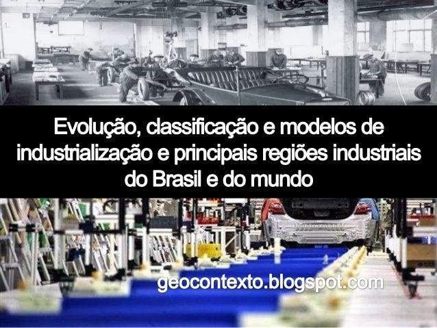 CLASSIFICAÇÃODASINDÚSTRIAS Artesanato Indústria doméstica Produzem para uso próprio Prevaleceu até o século XVI Sapatos, v...