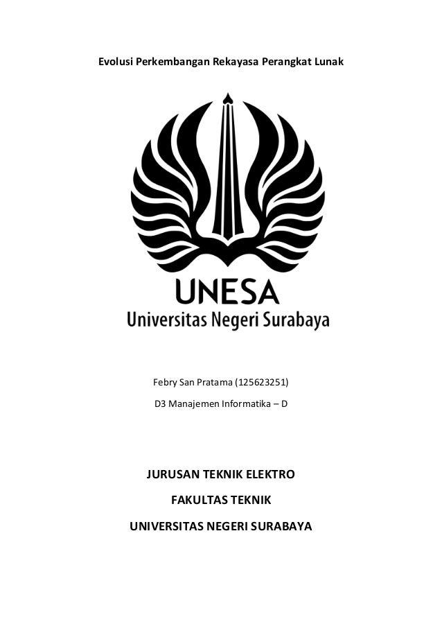 Evolusi Perkembangan Rekayasa Perangkat Lunak  Febry San Pratama (125623251) D3 Manajemen Informatika – D  JURUSAN TEKNIK ...
