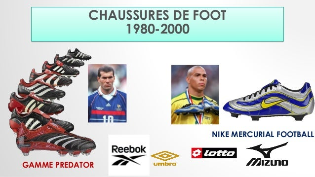 Evolution of the soccer shoes (1923 2016)