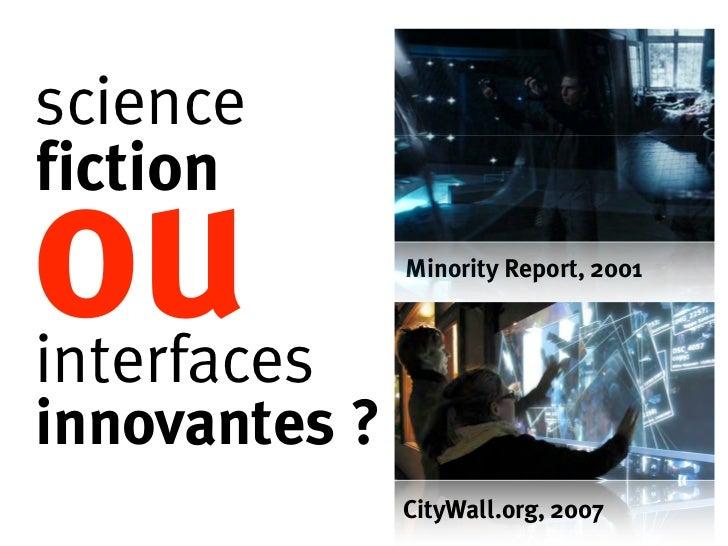 Evolution des métiers du design interactif