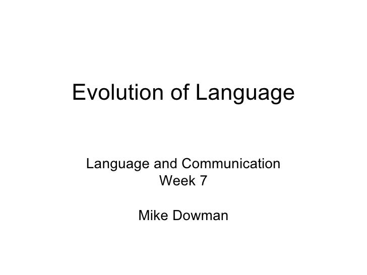 the evolution of the english language The history of the english language has traditionally been divided into three main periods: old english (450-1100 ad), middle english (1100-circa 1500 ad) and modern english (since 1500) over the centuries, the english language has been influenced by a number of other languages.