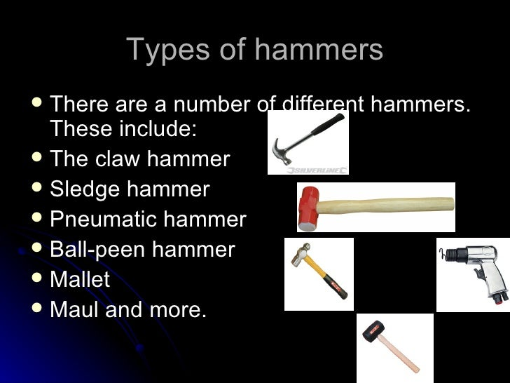 Evolution Of The Hammer