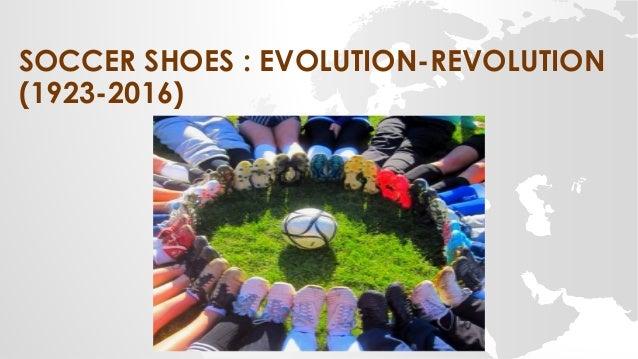 SOCCER SHOES : EVOLUTION-REVOLUTION (1923-2016)