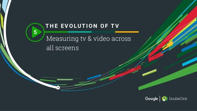thinkwithgoogle.com 1 5 Measuring tv & video across all screens T HE EVOLUTION OF T V