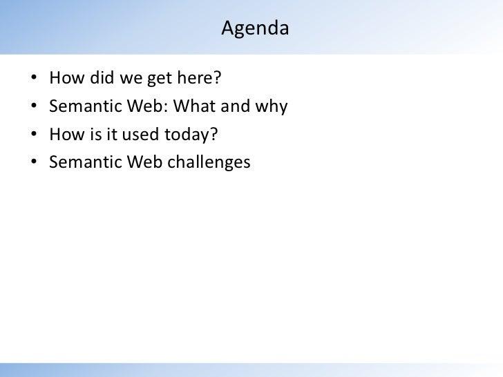 Evolution Towards Web 3.0: The Semantic Web Slide 2