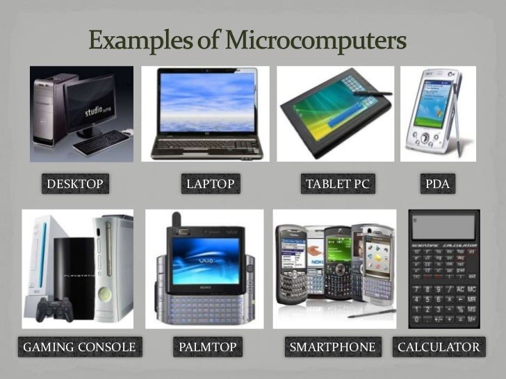 what is microcomputers