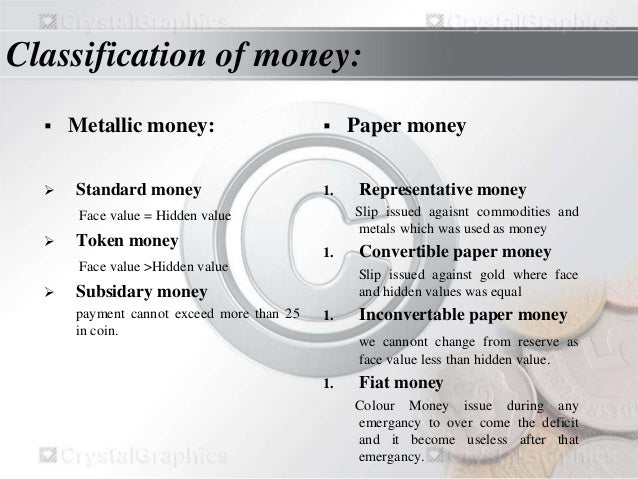 money and its functions The elemental functions of a money market must be performed in any kind of modern  the touchstone of any money market asset other than money itself is its.
