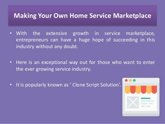Evolution and Rise of Online Home Service Marketplace