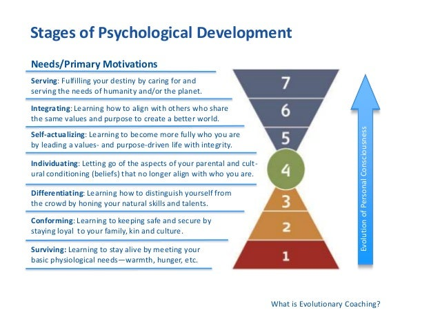 psychological stages of human development