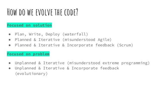 Evolutionary Design - Refactoring Heuristics Slide 3