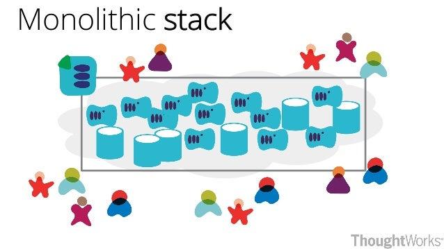 Monolithic stack