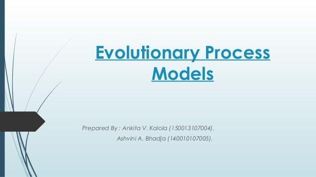 evolutionary process models se ppt