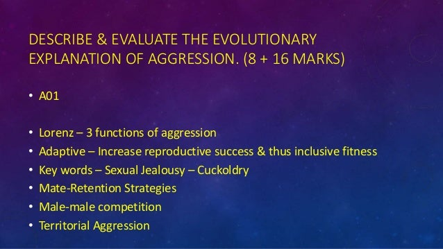 evolutionary explanation of aggression infidelity and jealousy Home a level and ib study tools  psychology  evolutionary explanation for infidelity and sexual jealousy leading to  the evolutionary explanation of aggression.