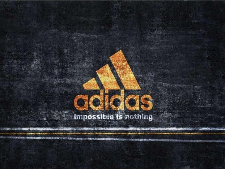 adidas logo with slogan