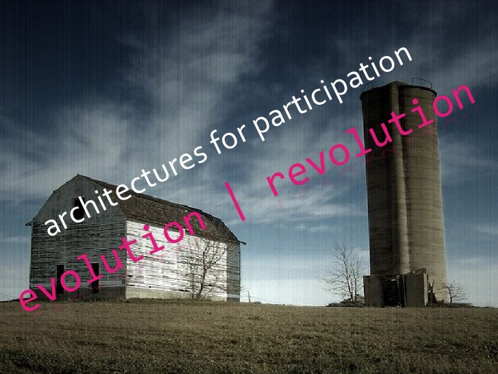 architectures for participation