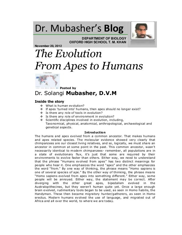 Dr. Mubasher's Blog                            DEPARTMENT OF BIOLOGY                       OXFORD HIGH SCHOOL T. M. KHANNo...