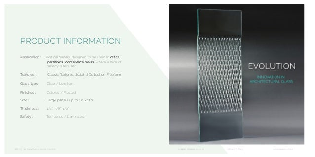 PRODUCT INFORMATION Application : Vertical panels, designed to be used in office partitions, conference walls, where a lev...