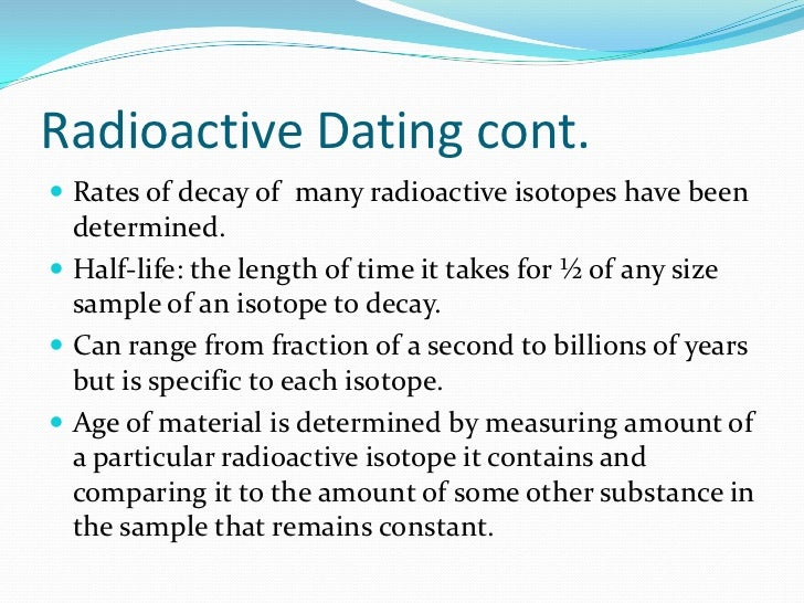 100 greatest science discoveries of all time radiometric dating. come cancellare il profilo zoosk dating.