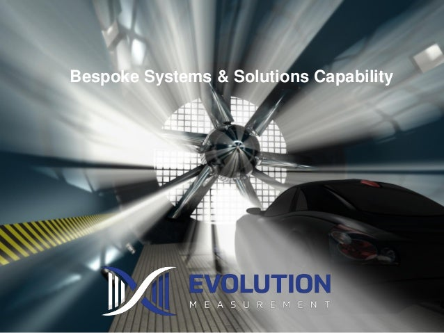 Bespoke Systems & Solutions Capability