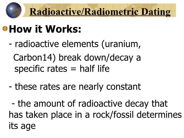 definition of radiometric dating