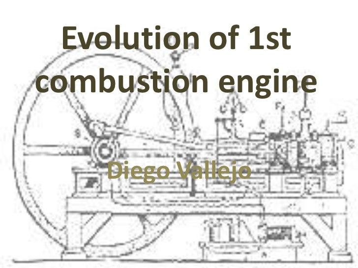 Evolution of 1st combustion engineSlideShare