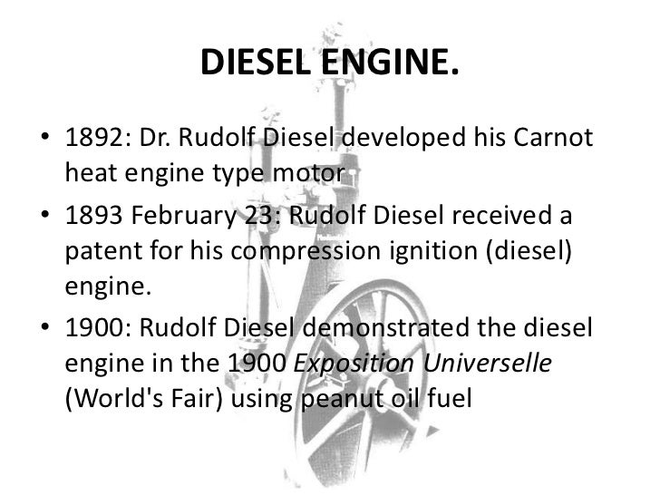 rudolf diesel essay An introduction to the early history of the diesel engine rudolf diesel, who is best known for the invention of the engine that bears his name.