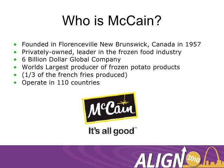 Mccain Foods (G.B.) Limited