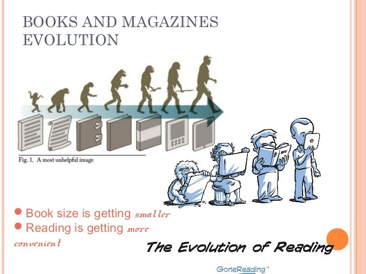 Evolution Of Books And Magazines