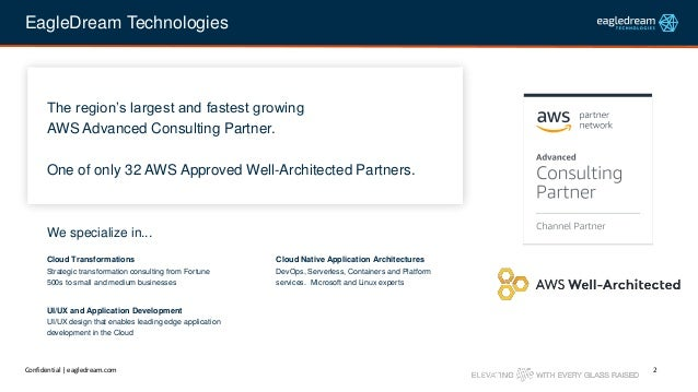 The Evolution of Cloud Architectures: Focusing More on the Business Logic Slide 2