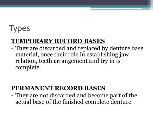 Evolution Of Denture Base Materials And Reveiw Of Current Ones