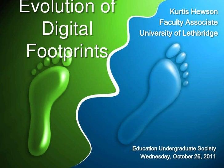 Evolution of              Kurtis Hewson                      Faculty Associate  Digital        University of Lethbridge Fo...