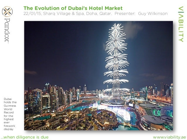 www.viability.ae…when diligence is due The Evolution of Dubai's Hotel Market 22/01/15, Sharq Village & Spa, Doha, Qatar. P...