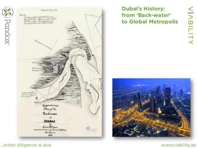 www.viability.ae…when diligence is due Dubai's History: from 'Back-water' to Global Metropolis