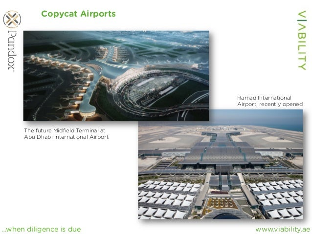www.viability.ae…when diligence is due Copycat Airports The future Midfield Terminal at Abu Dhabi International Airport Ham...