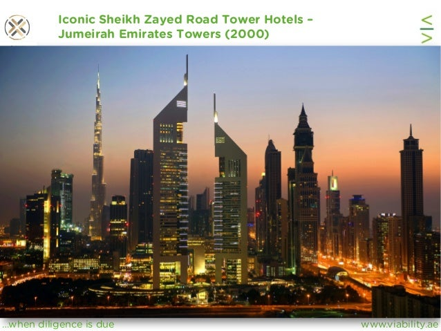 www.viability.ae…when diligence is due Iconic Sheikh Zayed Road Tower Hotels – Jumeirah Emirates Towers (2000)
