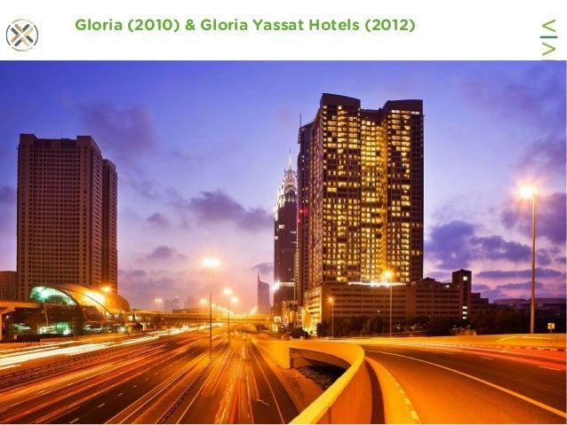 www.viability.ae…when diligence is due Gloria (2010) & Gloria Yassat Hotels (2012)