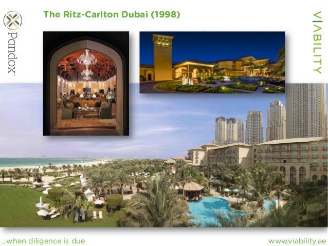 www.viability.ae…when diligence is due The Ritz-Carlton Dubai (1998)