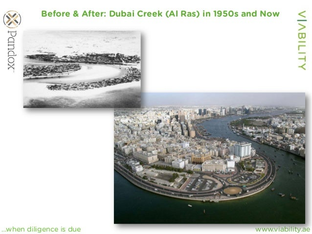 www.viability.ae…when diligence is due Before & After: Dubai Creek (Al Ras) in 1950s and Now