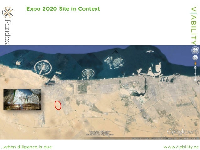 www.viability.ae…when diligence is due Expo 2020 Site in Context